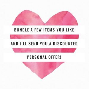 Bundle Items and Save!